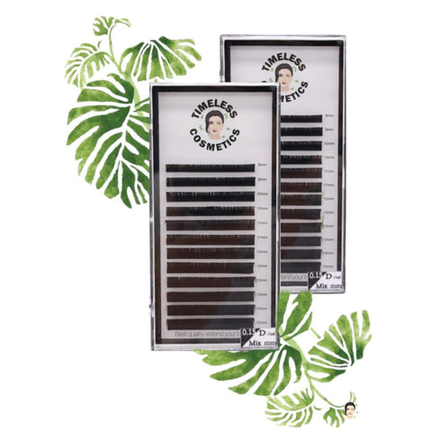Easy Fanning Lashes (0.05mm Ø) 8-15mm - 8mm / C - Lashes