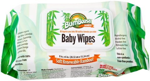 Scented Bamboo Baby Wipes - 80 Count