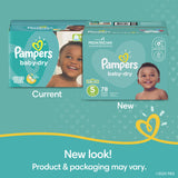 Pampers Baby Dry Disposable Diapers - Newborn/Size 1 (8-14 lb)
