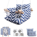 Baby Canvas Swing - Blue