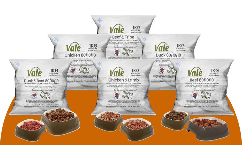 Vale Pet Foods Raw Range