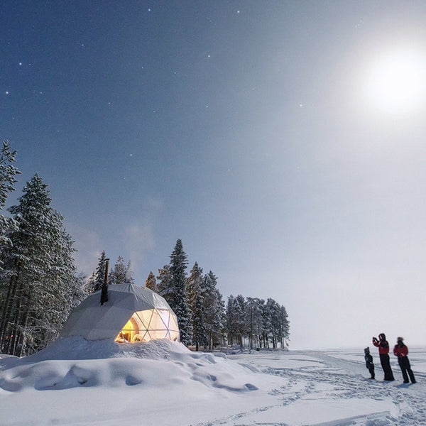 How to winterize a geodesic Dome