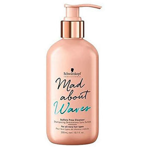 Moisturizing Shampoo Mad About Waves Schwarzkopf