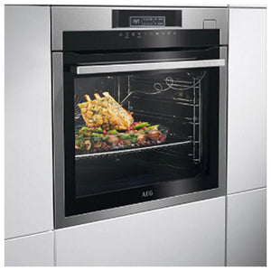 Multipurpose Oven Aeg BSE782320M 73 L Touch Control 53 dB 3500W Black Stainless steel