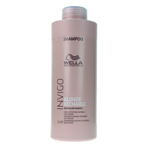 Shampoo for Blonde or Graying Hair Invigo Blonde Recharge Wella (1000 ml)