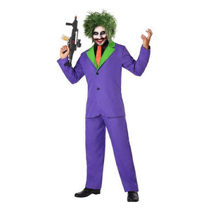 Costume for Adults Joker Male clown   -   NORDBEC SWEDEN