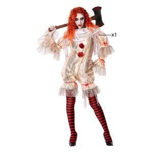 Costume for Adults Evil female clown   -   NORDBEC SWEDEN