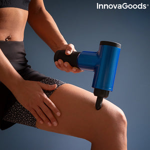 Massage Gun for Relaxation and Muscle Recovery Relaxer InnovaGoods   -   NORDBEC SWEDEN