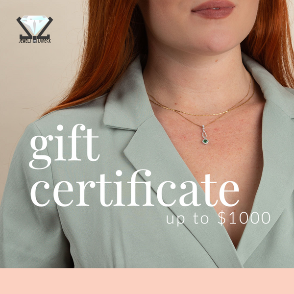 Jewels by Lubeck Gift Certificate
