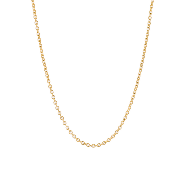 Solid 14k Gold Cable Chain