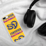 Gold and Blue SD Certified iPhone Case