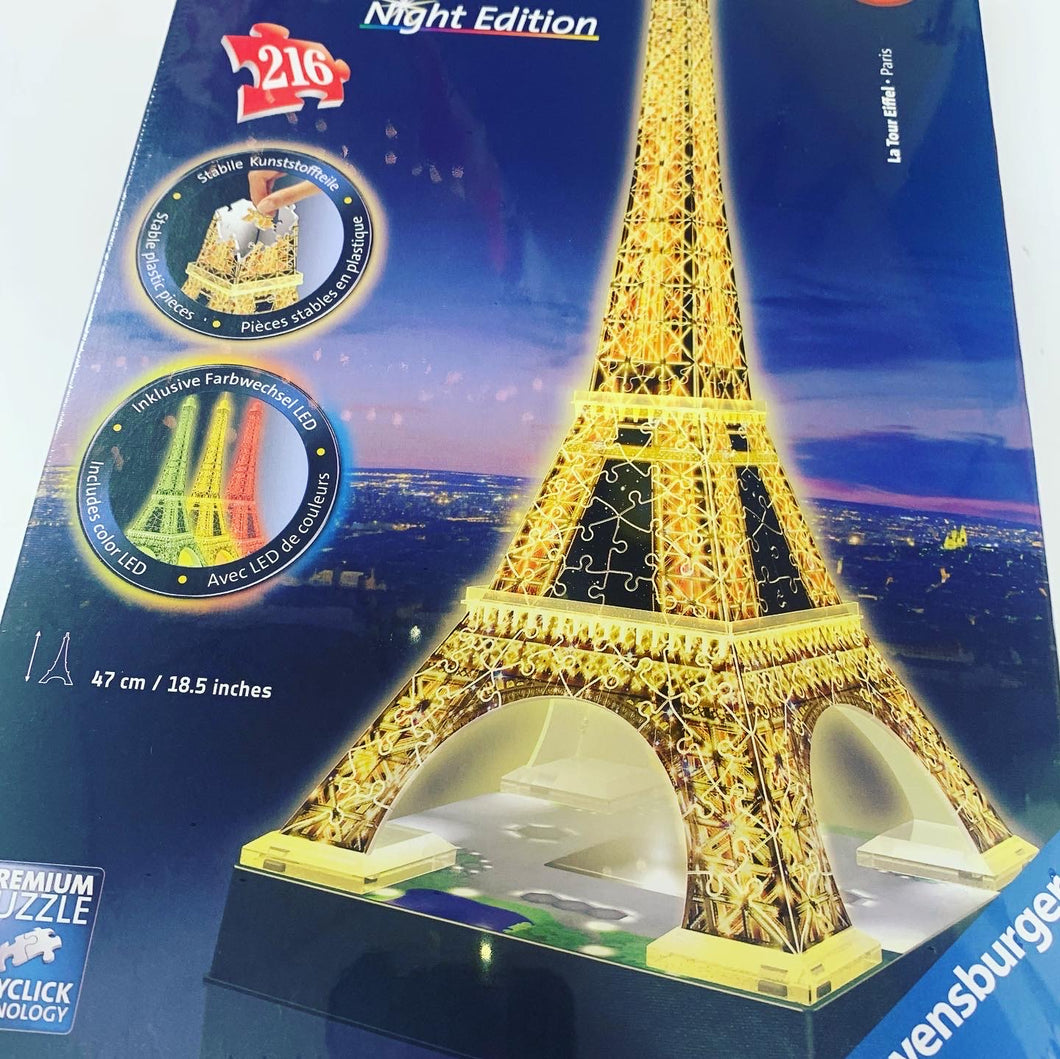 Ravensburger Light up Eiffel Tower Puzzle