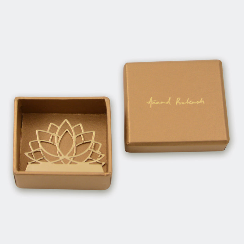 Business Card Holder Yoga Lotus
