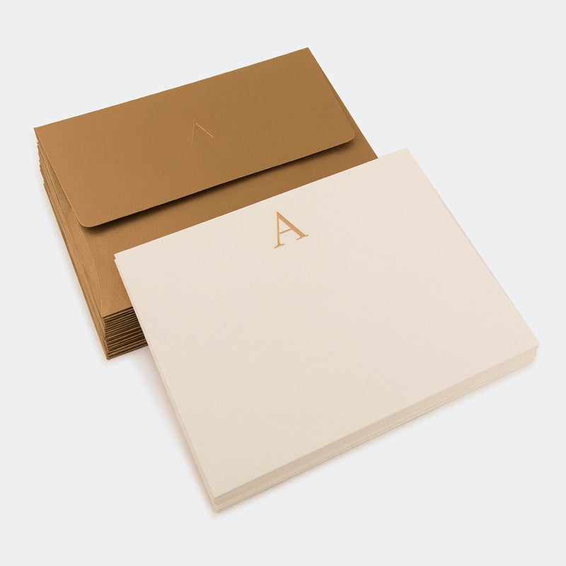 Notecards, Gift Tags - Letter A