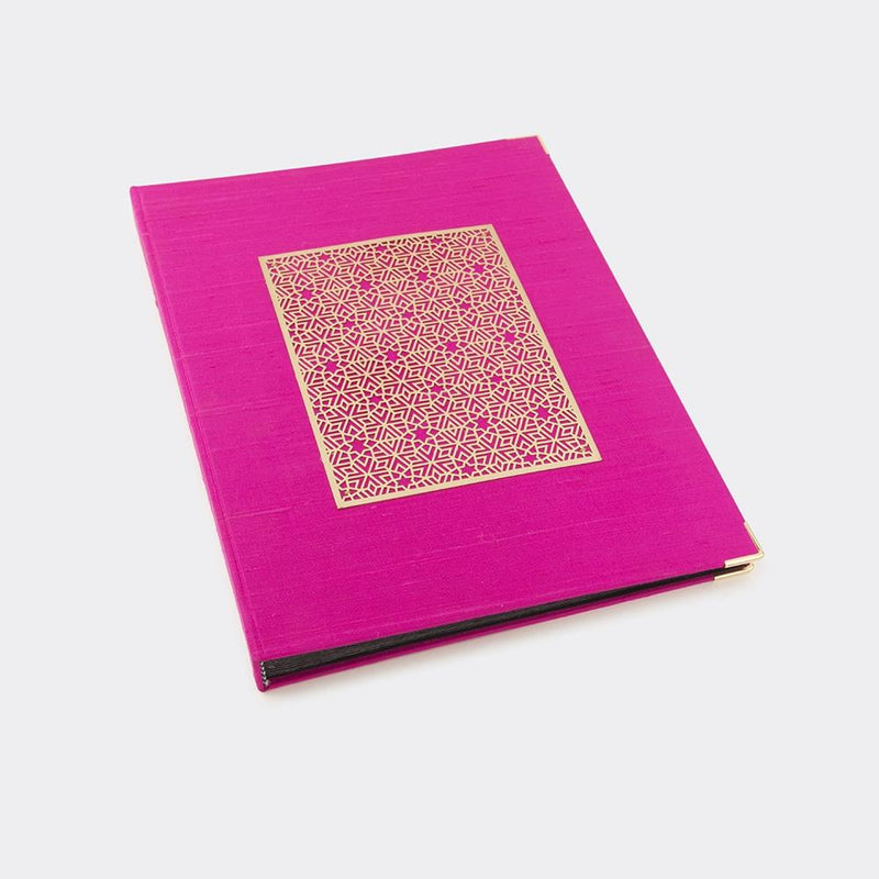 Photo Album Silk - Pink Jaali