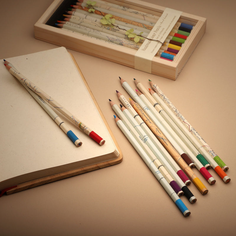 Colour Pencils - Maps Box of 12