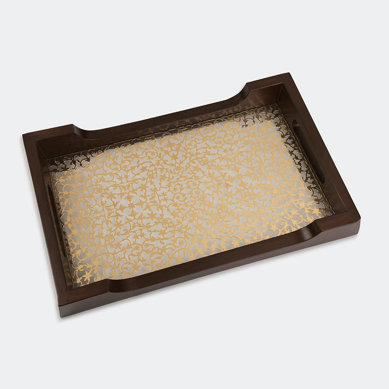 Teak Wood Serving Tray - TM T