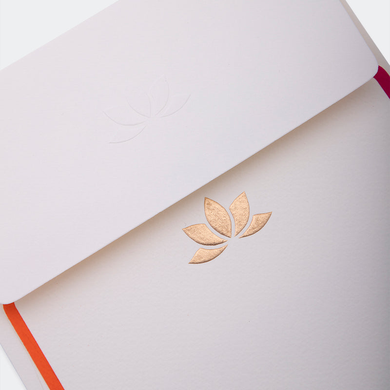 Notecards, Letter Writing - Color Lotus