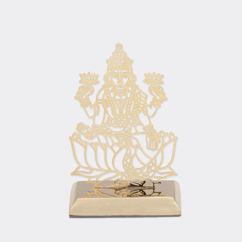 Car Dashboard Stand Goldplated - Spiritual Designs