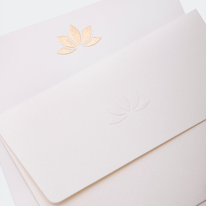 Notecards, Letter Writing, Gift Tags - Lotus