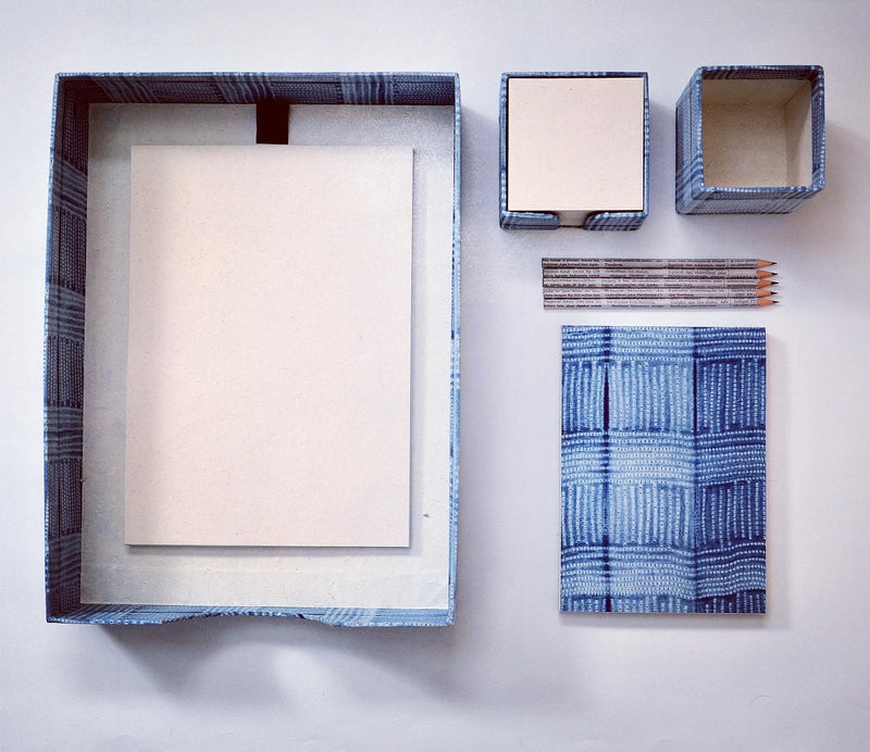 Office Set - Shibori