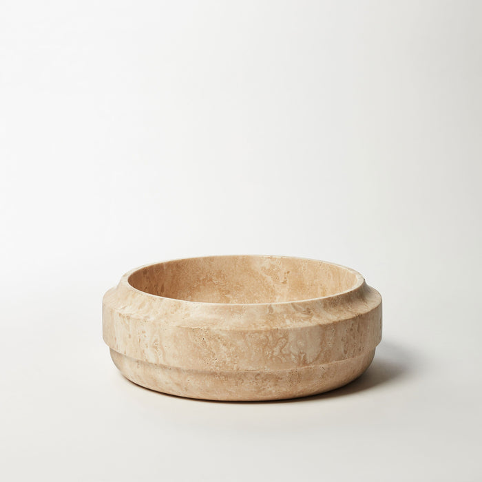 Bowl 4-Roman Travertine
