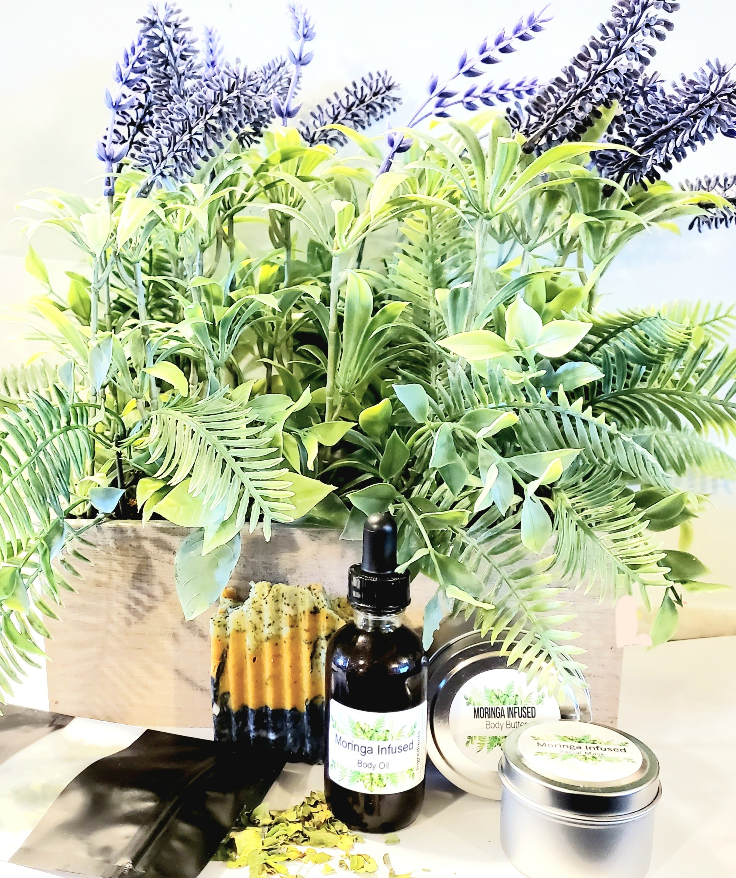 Moringa Infused Gift Basket Set