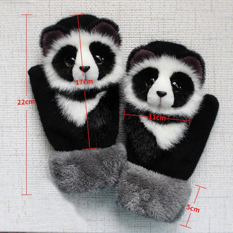 Thick Warm Animal Gloves - Mosthing - most thing