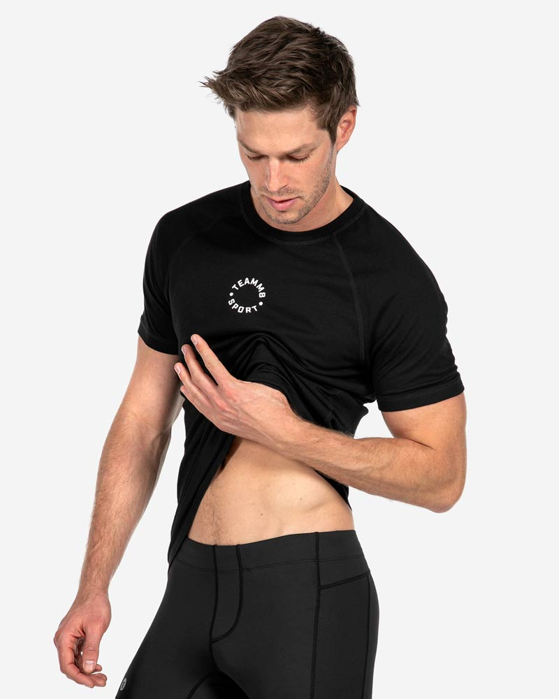 TEAMM8 Sport T-Shirt – Black