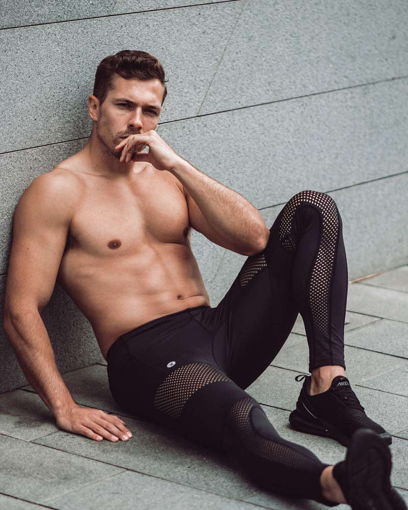 Mens Gym Tights