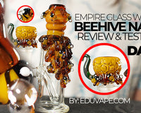 Empire Glassworks Beehive Nano Mini Rig Review & Unboxing Video