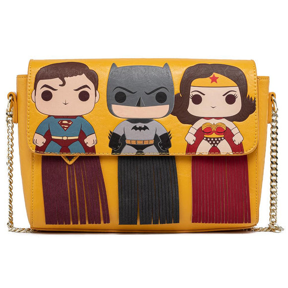 DC Fringe Capes Crossbody (Pop by Loungefly)