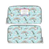 (June Catalog Pre-Order) Hasbro My Little Pony Starshine Rainbow AOP Loungefly Wallet