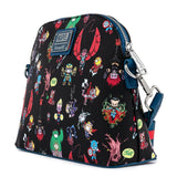 Marvel Chibi Group AOP Loungefly Crossbody