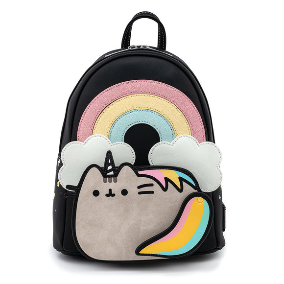 Pusheen Rainbow Unicorn Loungefly Mini Backpack