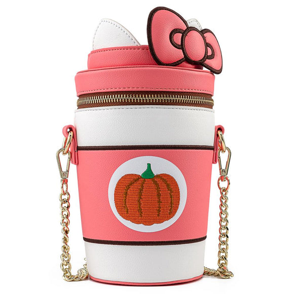 Hello Kitty Pumpkin Spice Cup Loungefly Crossbody
