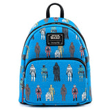 Star Wars Action Figures AOP Loungefly Mini Backpack