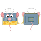 (May Catalog Pre-Order) Pixar Ratatouille Chef Cosplay Loungefly Wallet