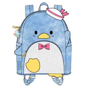 (May Catalog Pre-Order) Sanrio Tuxedo Sam Cosplay Loungefly Mini Backpack
