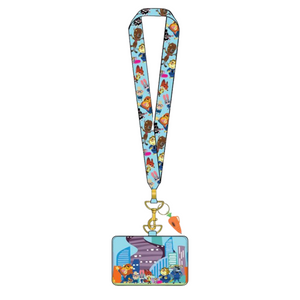 (May Catalog Pre-Order) Zootopia Lanyard Loungefly Cardholder