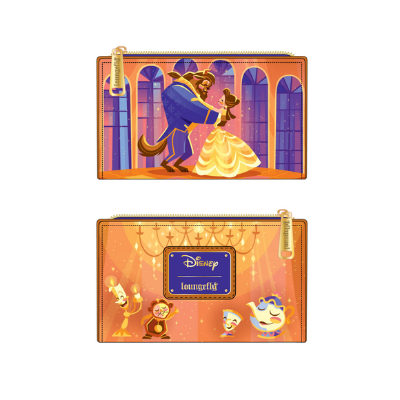 (May Catalog Pre-Order) Beauty and the Beast Ballroom Scene Loungefly Wallet