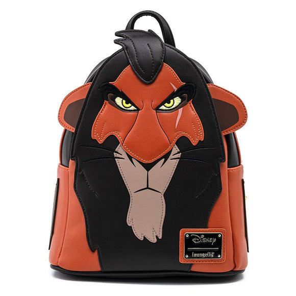 The Lion King Scar Cosplay Loungefly Mini Backpack
