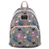 Disney Cats AOP Loungefly Mini Backpack