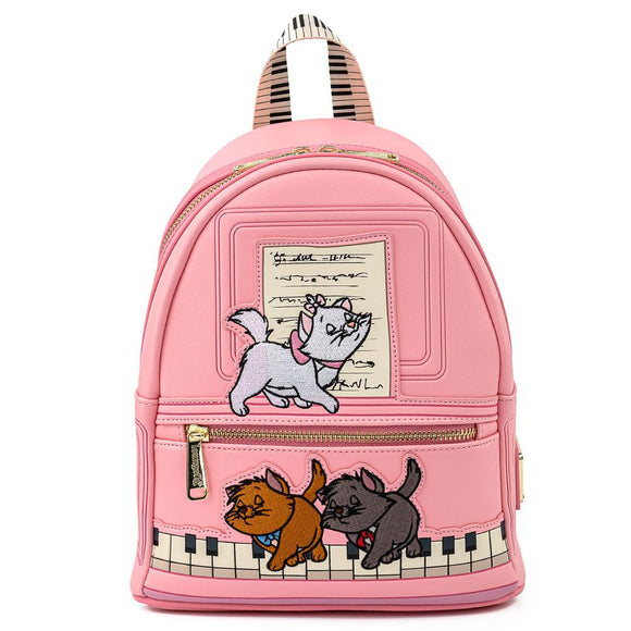 Aristocats Piano Kitties Loungefly Mini Backpack