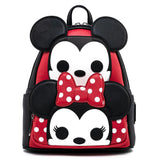 Mickey and Minnie Cosplay Mini Backpack (Pop by Loungefly)
