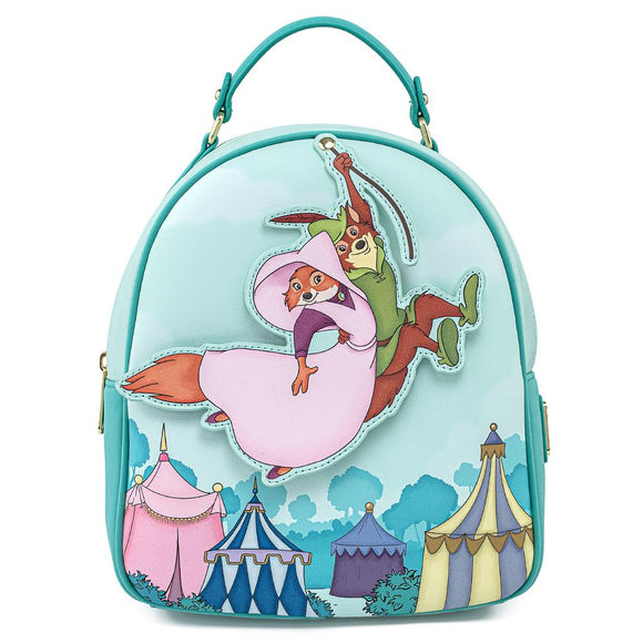 Robin Hood Rescues Maid Marian Loungefly Mini Backpack