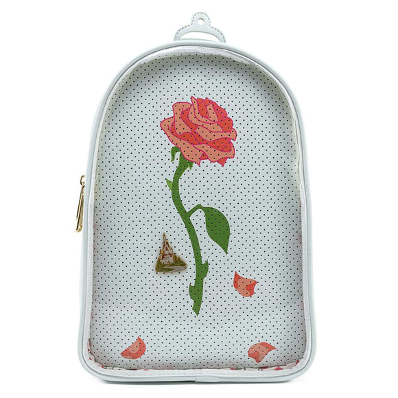 Beauty and the Beast Pin Collector Loungefly Convertible Backpack
