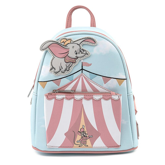 Dumbo Flying Circus Tent Loungefly Mini Backpack