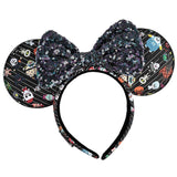 Nightmare Before Christmas Chibi Loungefly AOP Ears