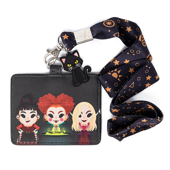 Hocus Pocus Loungefly Lanyard with Cardholder